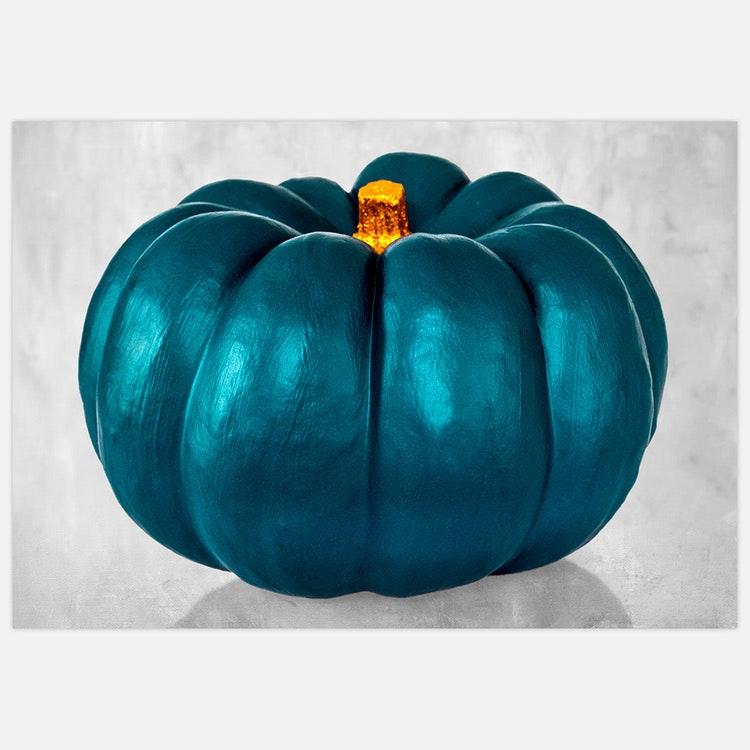Turquoise Pumpkin
