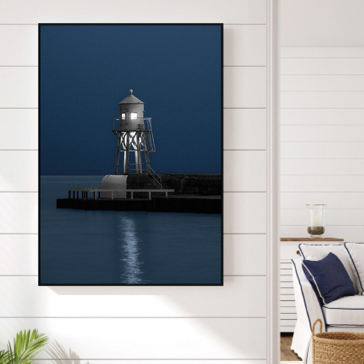 Lighthouse by night