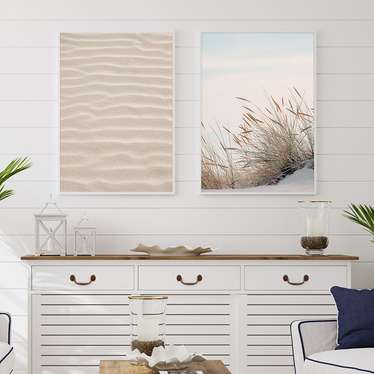 Gallery Wall On the beach
