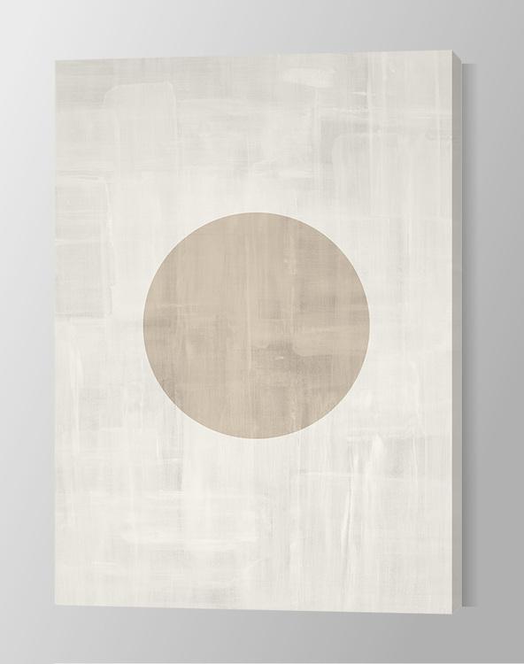 Circle Painting Canvas