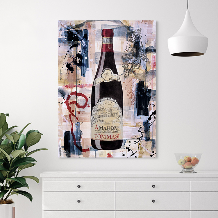 Wine Artwork 2 Canvas