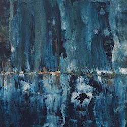 """""""Blå abstrakt"""""""