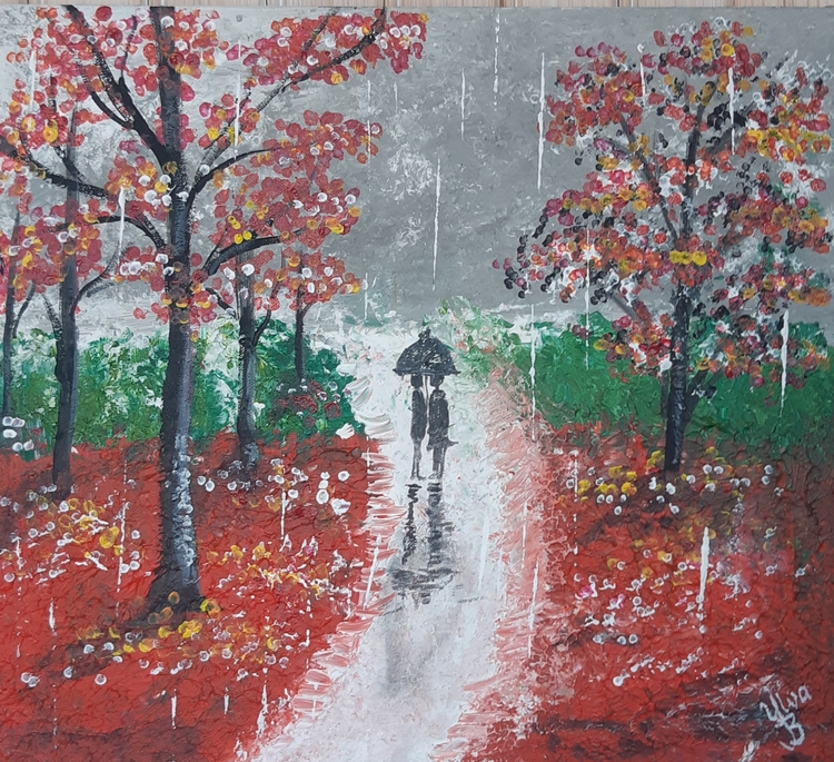A Lovely walk in the rain