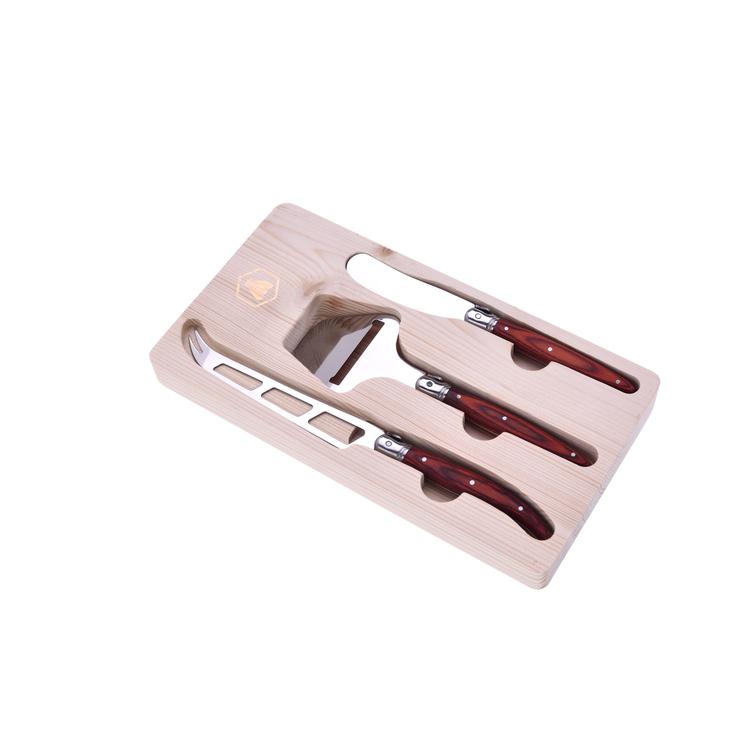 Laguiole ostset (kniv, osthyvel, smörkniv) [40268877]