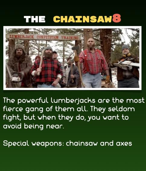 Magfed Paintball - The Chainsaw8 team
