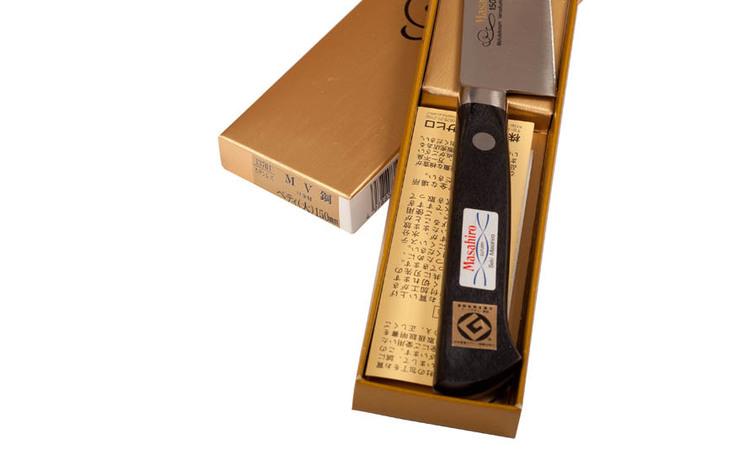 Masahiro MV-Pro liten kniv 15cm [13704]