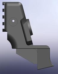 Crom pistol handtag, Ruger PC Carbine