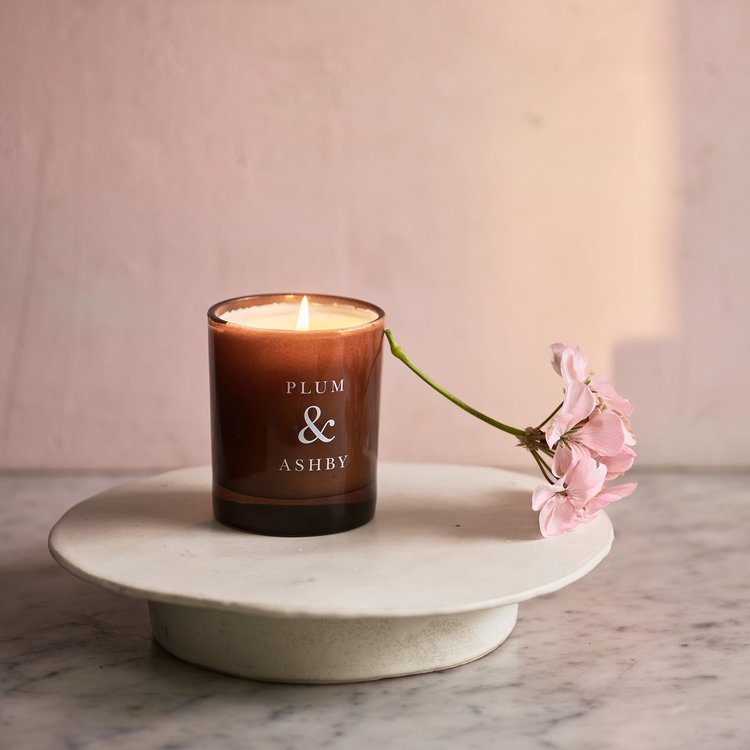 VETIVER & LAVENDER SCENTED CANDLE