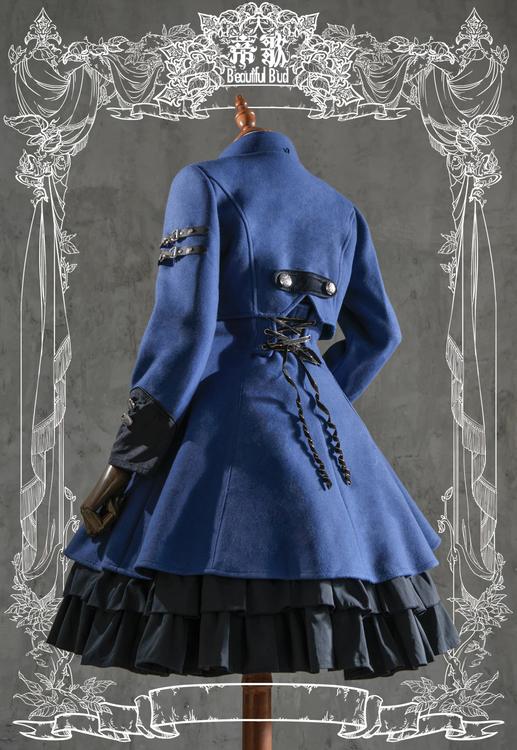 Beautiful Bud - Natasha Short Coat