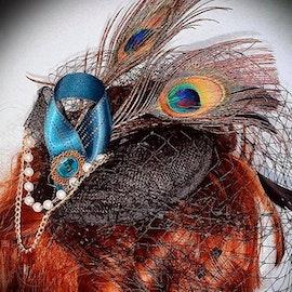 Lilian - Bird of Juno Mini Hat