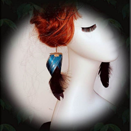 Lilian - Bird of Juno Earrings