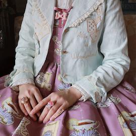 [Pre-order] Lili Berry - Fantasy Alice Jacket