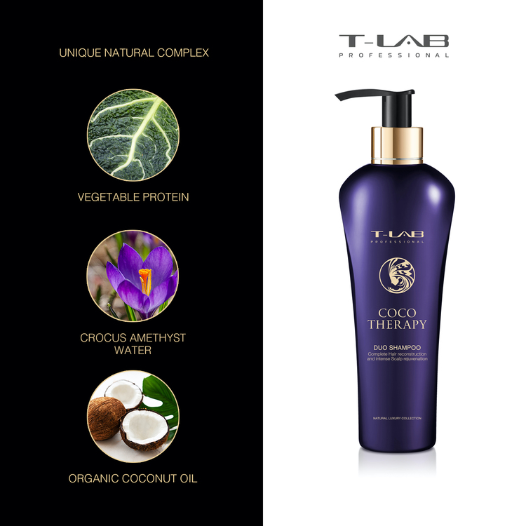 T-LAB Coco Therapy Schampo 300 ml