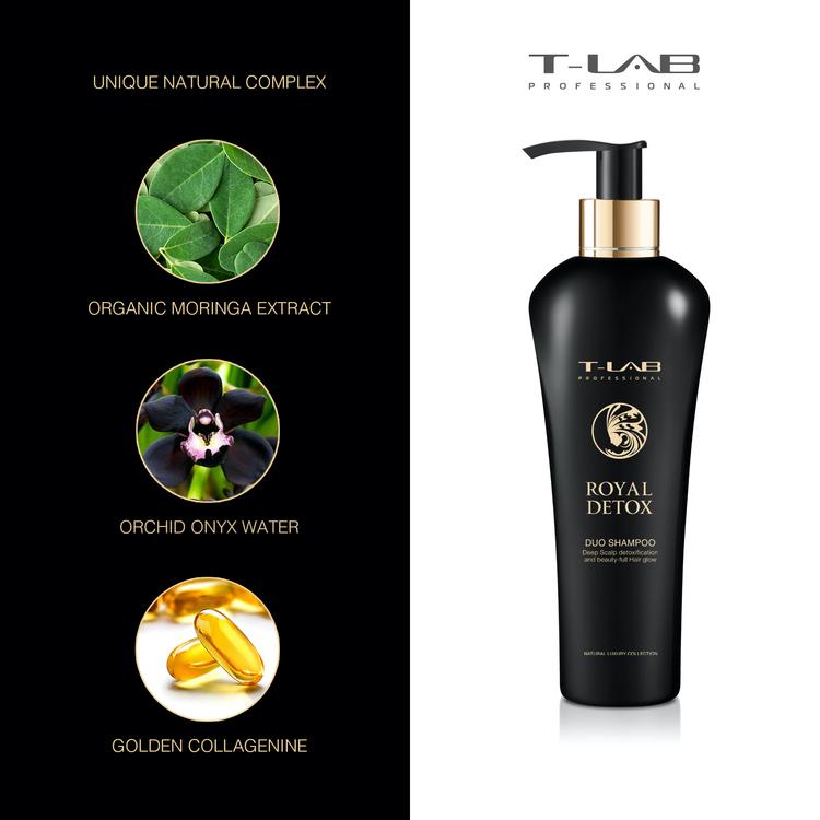 T-LAB Royal Detox Schampo 300 ml