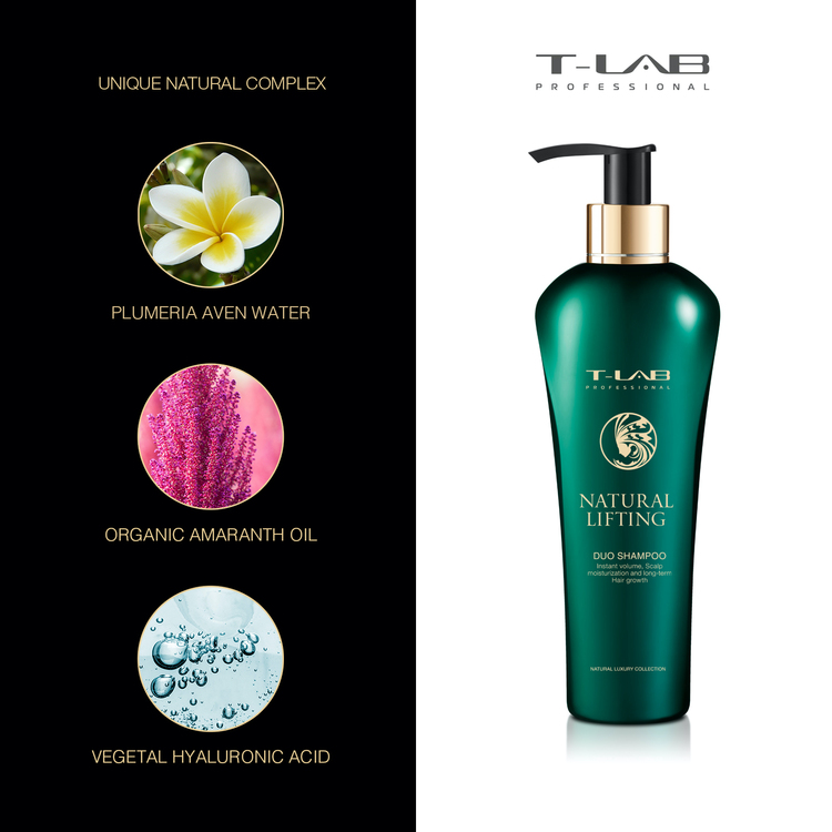 T-LAB Natural Lifting Schampo 300 ml