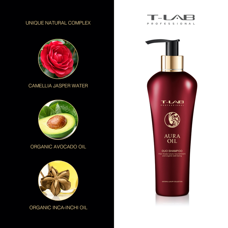 T-LAB Aura Oil Schampo 300 ml