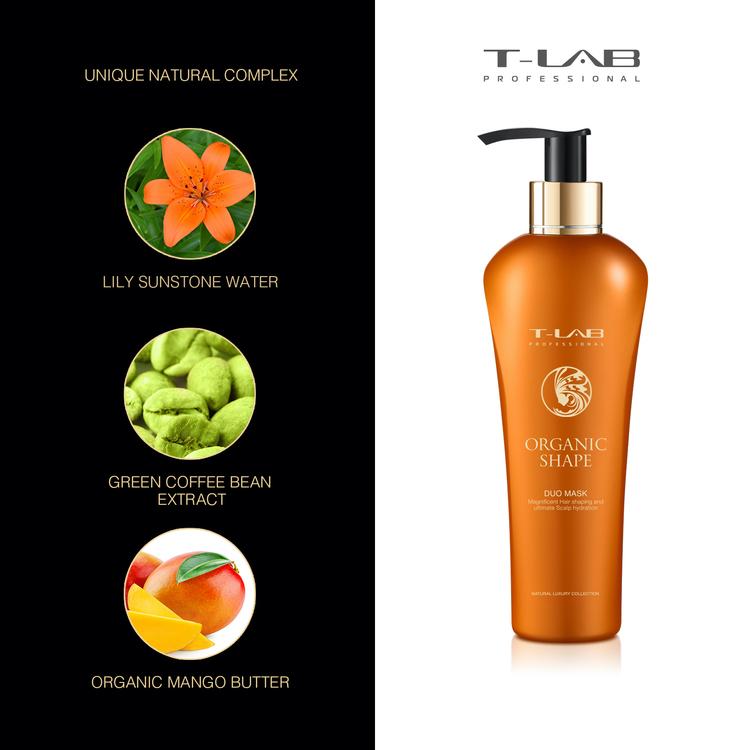 T-LAB Organic Shape Balsam/Mask 300 ml