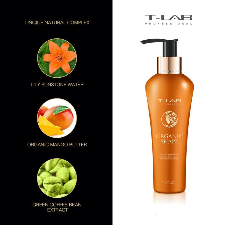 T-LAB Organic Shape Multi-Care Fluid 150 ml