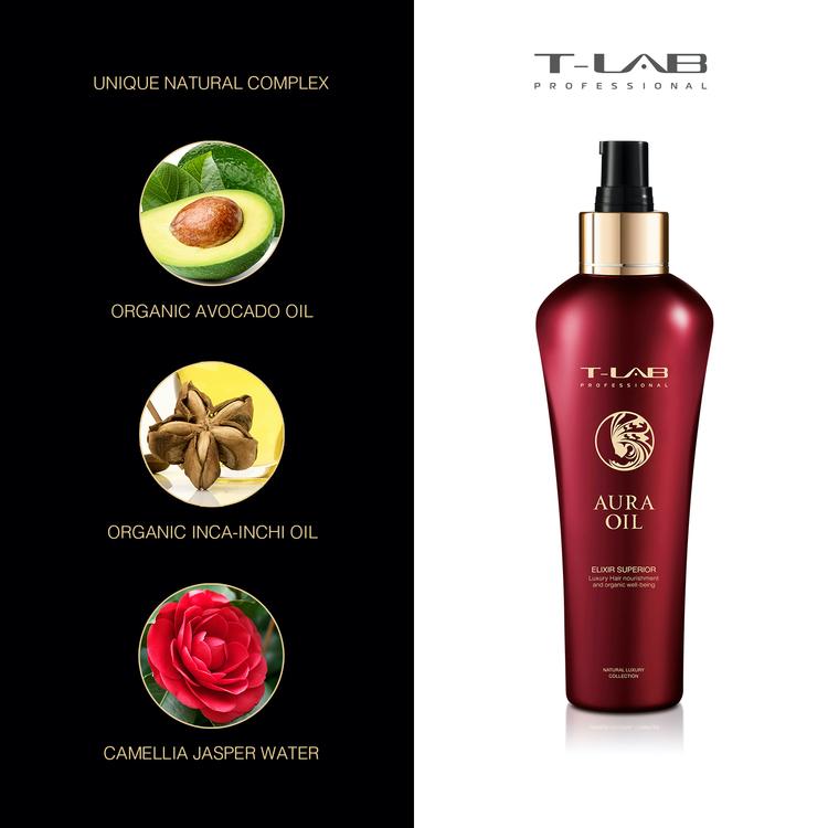 T-LAB Aura Oil Elixir Superior 150 ml