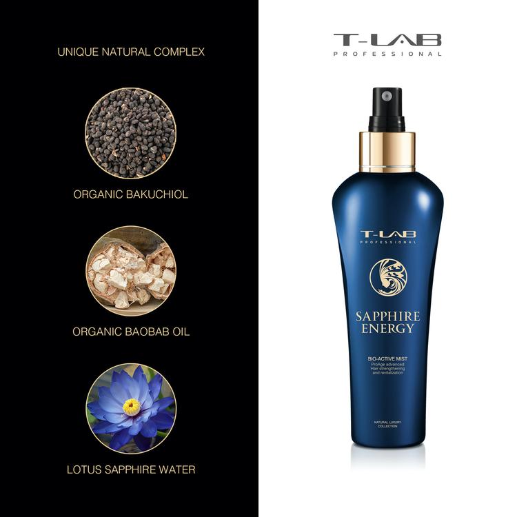 T-LAB Saphire Energy Bio-Active Mist 150 ml