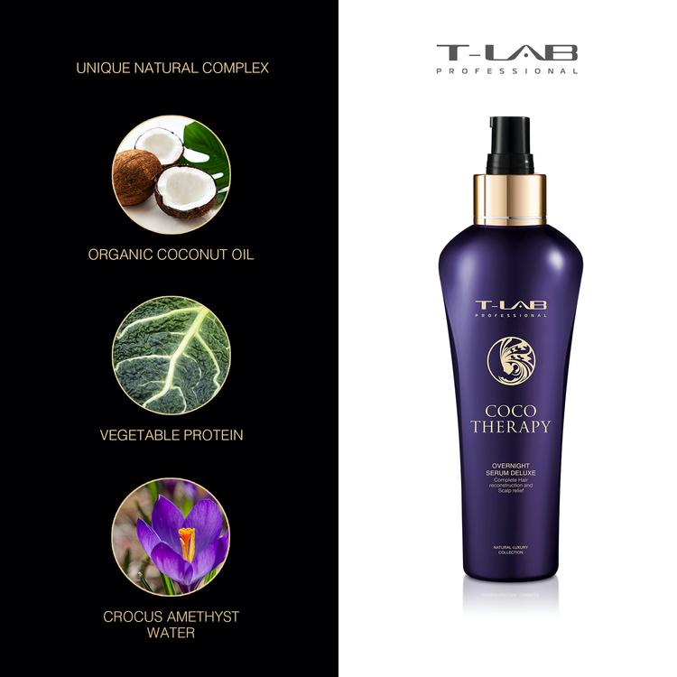 T-LAB Coco Therapy Overnight Serum Deluxe 150 ml