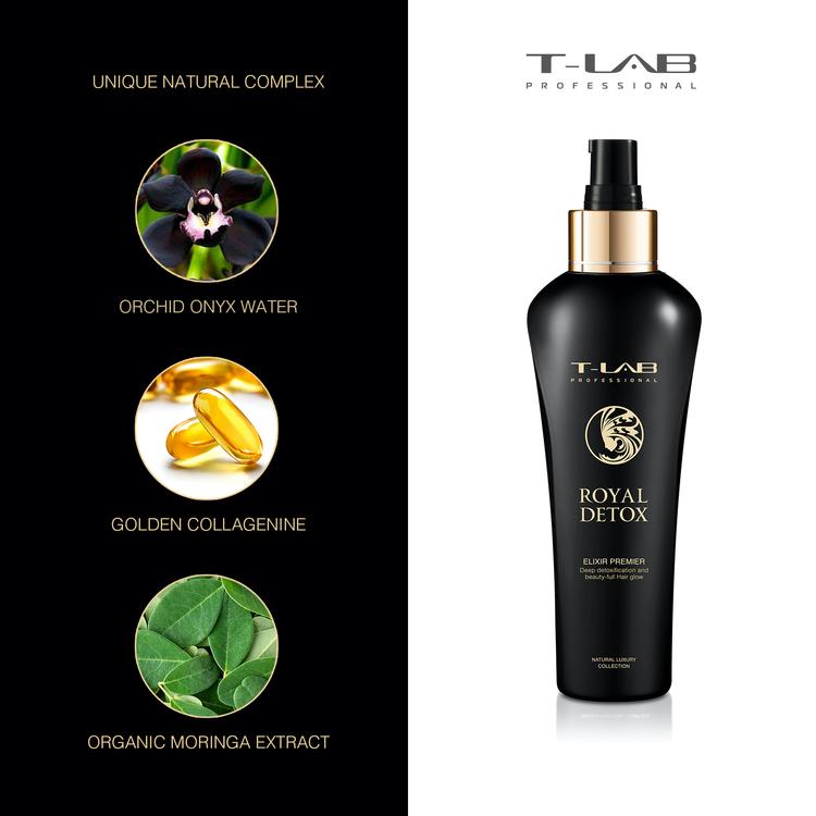 T-LAB Royal Detox Elixir Premier 150 ml