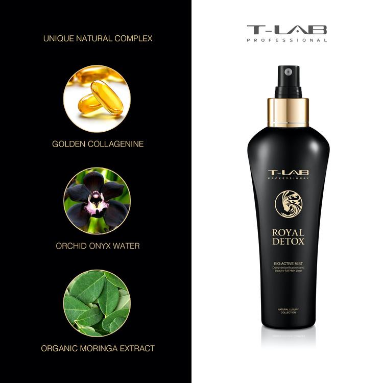 T-LAB Royal Detox Bio-Active Mist 150 ml