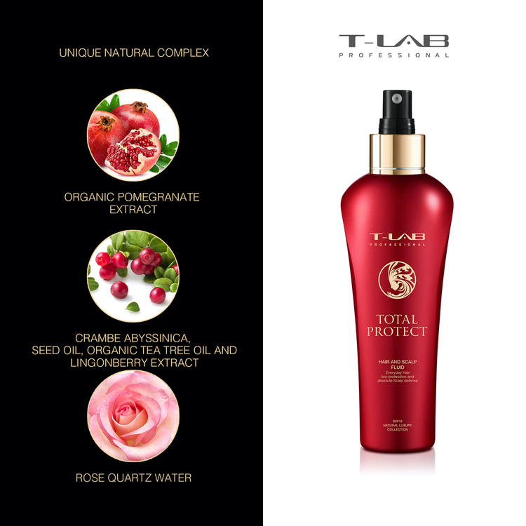 T-LAB Total Protect Hair And Scalp Fluid 150 ml