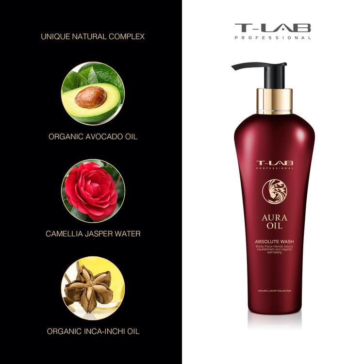 T-LAB Aura Oil Absolute Body Wash 300 ml