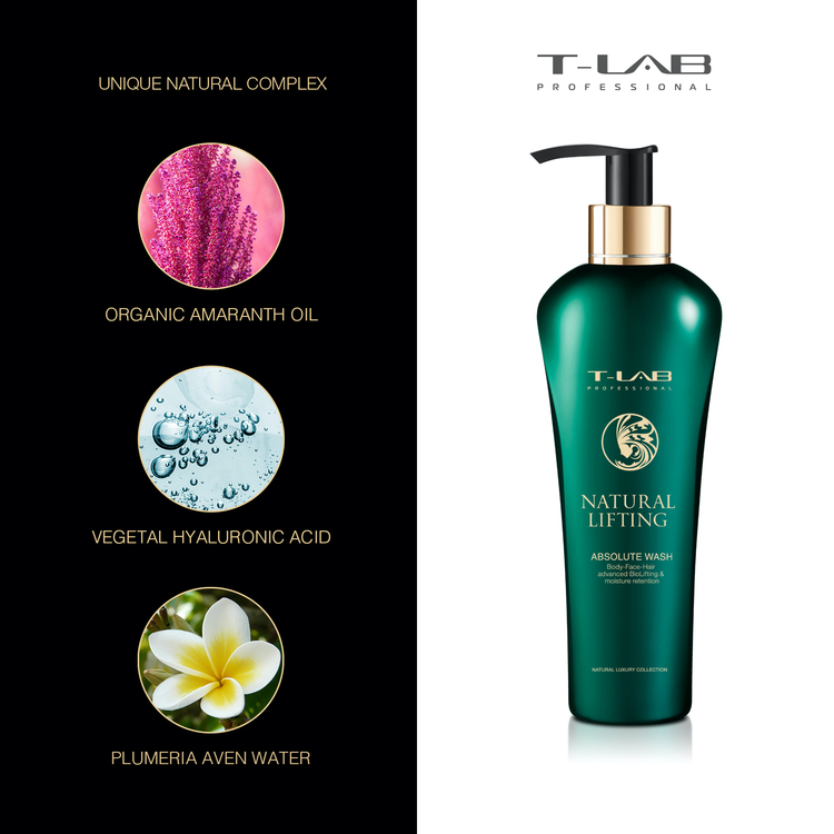 T-LAB Natural Lifting Absolute Body Wash 300 ml