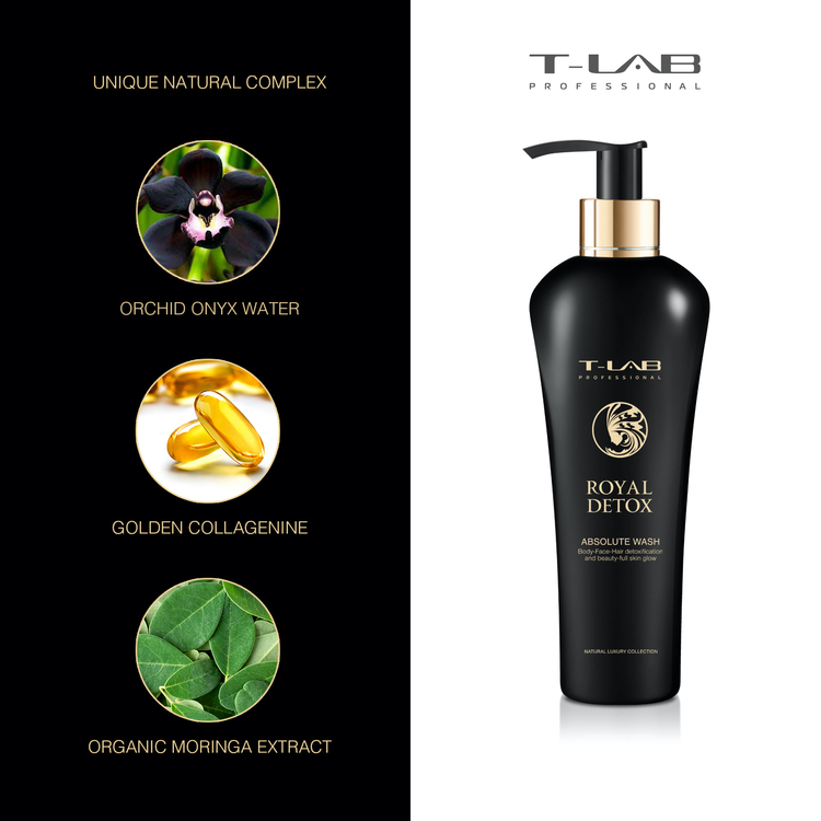 T-LAB Royal Detox Absolute Body Wash 300 ml