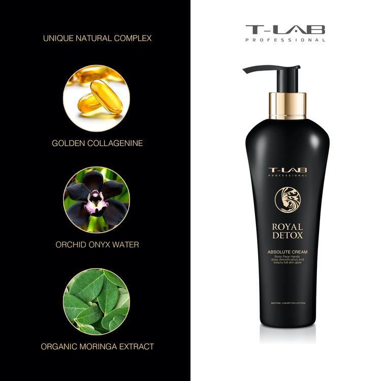 T-LAB Royal Detox Absolute Body Cream 300 ml