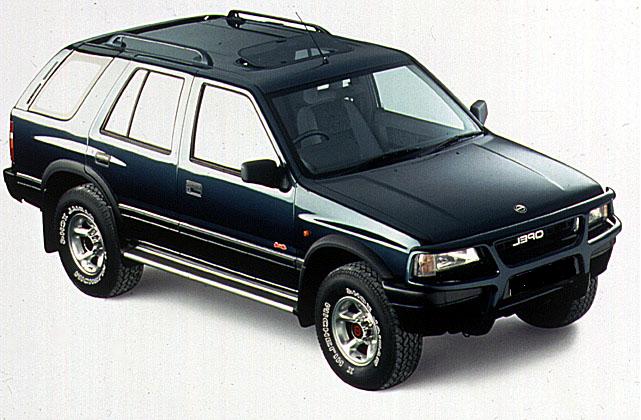 Auto raamfolie voor de Opel Frontera