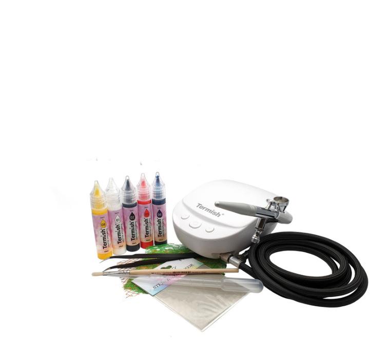 Airbrush kit 2 KM-2 (vit)