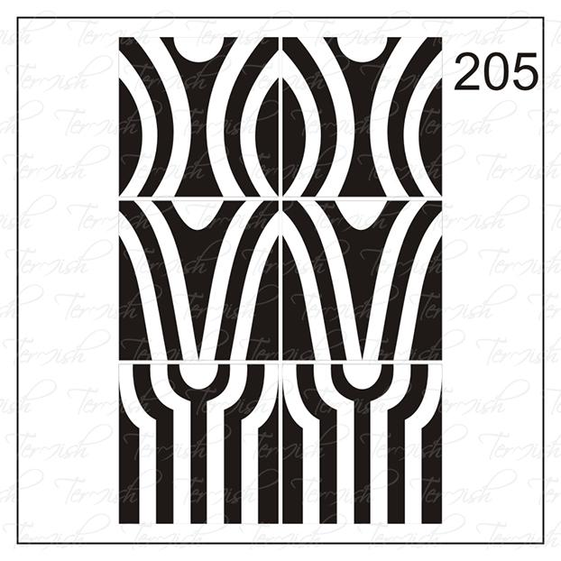 205 stencil