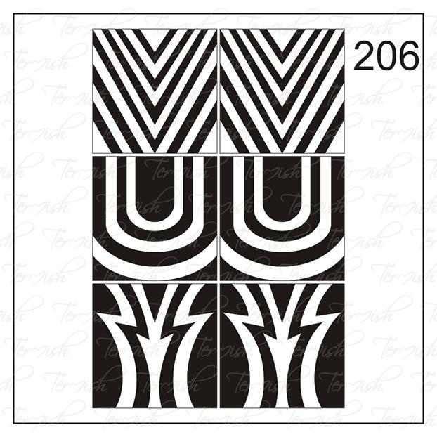 206 stencil