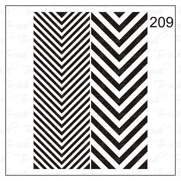 209 stencil