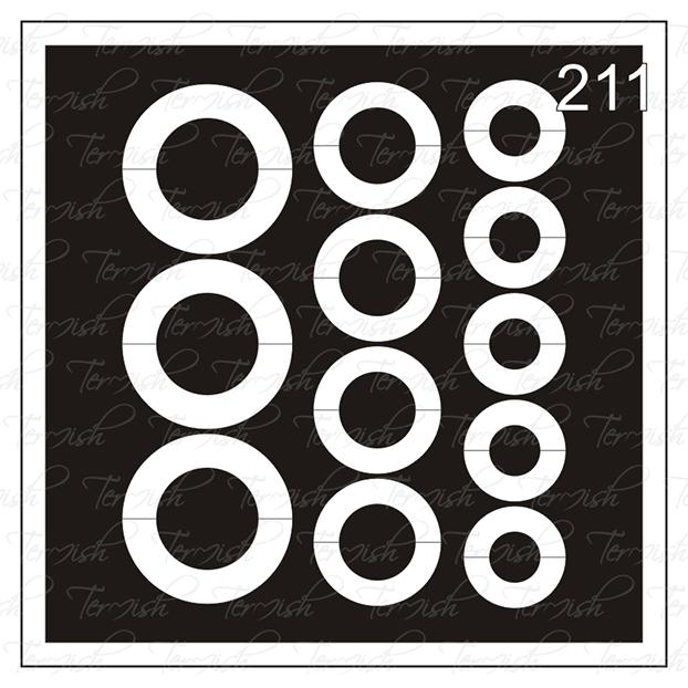 211 stencil