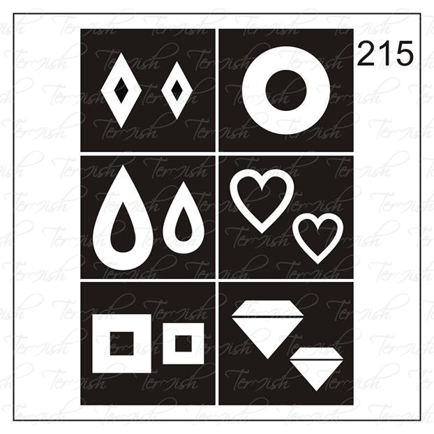 215 stencil