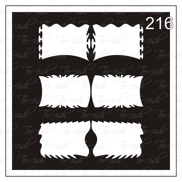 216 stencil