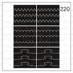 220 stencil