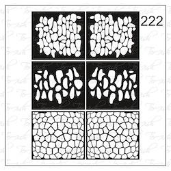 222 stencil
