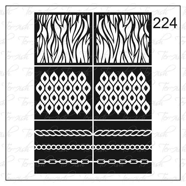 224 stencil