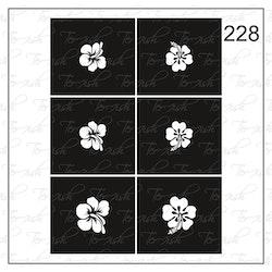 228 stencil
