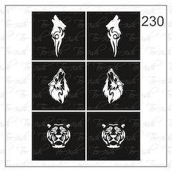 230 stencil