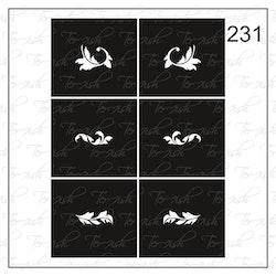 231 stencil