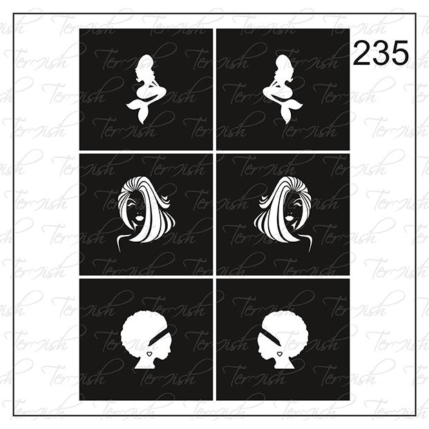235 stencil