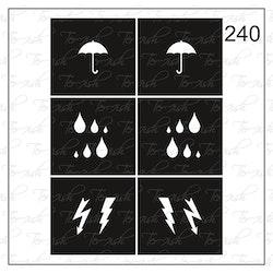 240 stencil