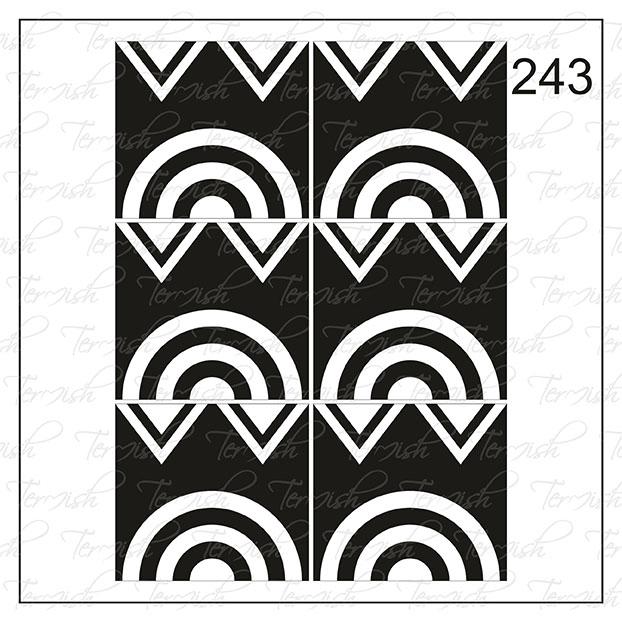 243 stencil