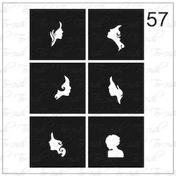 057 stencil